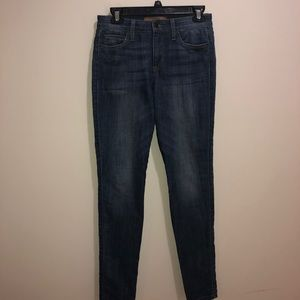 Joe's Jeans Claudine Mid Rise Skinny Size 27 Jeans